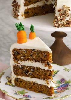 Red Velvet Cake - Preppy Kitchen Cake Boss Recipes, Easy Cake Recipes, Baking Recipes, Kitchen Recipes, Moist Carrot Cakes, Best Carrot Cake, Carrot Cake Topping, Carrot And Walnut Cake, Birthday Cakes For Teens