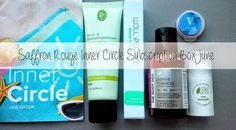 Lately, I've been pretty happy with the Saffron Rouge Inner Circle monthly subscription box. Inner Circle, Beauty Review, Sensitive Skin, Lotion, Natural Beauty, Skin Care, Cosmetics, Pure Products, Box