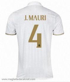 #4 Maglia AC Milan J.MAURI Gara Away 16/17