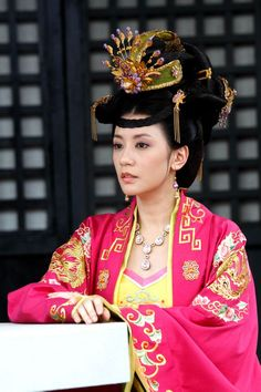 The Secret History of Princess Tai Ping 《太平公主秘史》 2012 Dynasty Clothing, Taiping, The Secret History, Chinese Clothing, Costumes For Women, Female Costumes, Chinese Style, Traditional Chinese, Chinese Actress