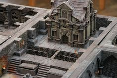 Hamburger Tactica 2010, Mordheim - All the dungeons should look like this. A superb, inspiring work.