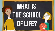 What is The School of Life? -- trying to answer the great questions of life,