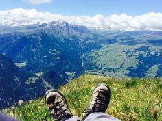 Imposanter Weitblick vom Piz Scalottas, Kanton Graubünden