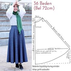 Dress Patterns For Women Sewing Baby Dress Patterns, Skirt Patterns Sewing, Sewing Patterns Free, Clothing Patterns, Circle Skirt Pattern, Sewing Blouses, How To Make Skirt, Diy Clothes, Make Your Own Clothes