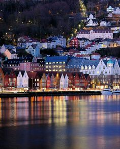 Bergen Harbor, Norway