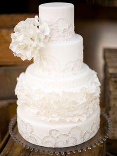 Luxury White Wedding Cake With Best Wedding Cake Gallery