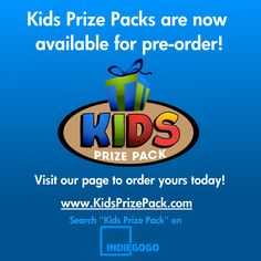 Kids Prize Pack is now Available for Preorder! Http://igg.me/at/KidsPrizePack Get Yours Today!