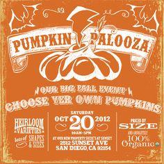 Pumpkin Palooza 2012