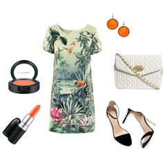 Designer Clothes, Shoes & Bags for Women Welcome To The Jungle, Shoe Bag, Chic, Polyvore, Tropical, Stuff To Buy, Shopping, Collection, Design