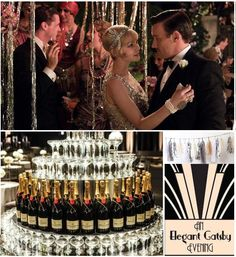A sophisticated Great Gatsby themed prom ideas #Gatsby #prom #theme
