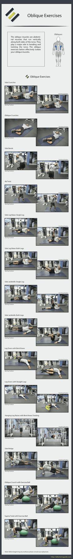 EMG's 14 Oblique Exercises #obliqueexercises