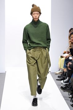 Margaret Howell Fall 2018 Menswear Fashion Show Collection