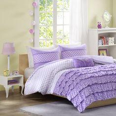 Mizone Morgan Comforter Set - Purple MZ10-231/2