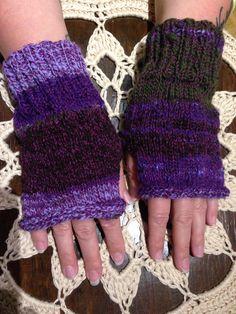 Handspun yarn/Mittens