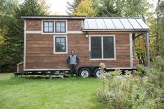 We are seeing more and more Tiny Houses build with Marvin and Integrity Windows. We love it!