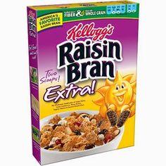 New #Coupon ~ Save $0.75/1 Kellogg's Raisin Bran