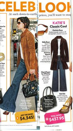 Style Watch - Katie Holmes Classic Cool