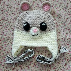 Available from my Etsy shop https://www.etsy.com/uk/listing/249051978/hand-crocheted-hamster-character-novelty