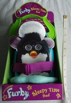 Electronic Furby sleepy time bed by Tiger. $85.00