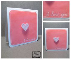 Valentines Day Card Check the others at the http://janedoescraftroom.blogspot.com/2015/02/valentinescards.html