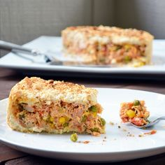 Chicken Pot Pie, Brazilian Style (Empadão de Frango) -- Looks just like the Torta de Frango we used to get in Brazil!