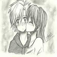 Resultado De Imagen Para Dibujos A Lapiz De Amor Anime Faciles Manga Drawing Anime Sketch Anime Art