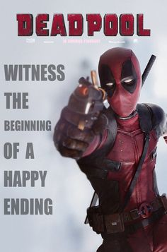 (Deadpool Fan Made Poster) By: Omikonemswveridze. Deadpool Movie 2016, Deadpool 3, Deadpool Cosplay, Deadpool Stuff, Marvel Dc Comics, Marvel Heroes, Deadpool Pictures, Wade Wilson, Dc Comic Books