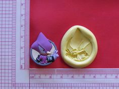 Sonic Character Hedgehog Silicone Push Mold A948 Chocolate Fondant Sugarcraft #LobsterTailMolds