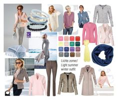 """""""Lichte zomertype/ Light summer color type."""" by roorda on Polyvore featuring mode, Basler, Armani Jeans en Topshop"""