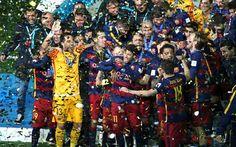 Goles de Lionel Messi y Luis Suárez llevaron el domingo a Barcelona a ganar su tercer título de la Copa Mundial de Clubes, con una victoria de 3-0 sobre el ...