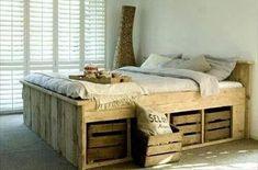 letto matrimoniale legno con cassetti - Cerca con Google