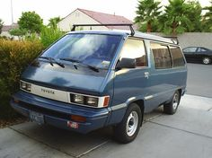 Toyota Van-the predecessor to the Previa! I love these vans almost as much as the Previa.