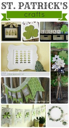 Are you ready for a collection of the best St. Patrick's ideas out there? I looked high and low and put together 90 of my favorite idea from crafts to food to printables and everything in between. This is no pansy list. It pretty much has everything you w St Patrick's Day Crafts, Holiday Crafts, Holiday Fun, Holiday Ideas, Diy Crafts, St Patricks Day Food, Saint Patricks, St Patrick's Day Decorations, Fantasy