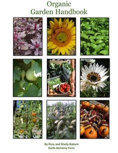 Organic Gardening Handbook from some local Reno farmers. So cool!