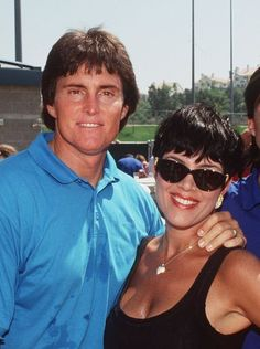 Bruce and Kris Jenner at the opening of the U.S. Soccer HQ at Mission Viejo, Calif., on Sept. 11, 1993.