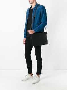 Valextra top handle messenger bag Designer Messenger Bags, Messenger Bag Men, Shoulder Bags, Burberry, Normcore, Handle, Top, Shopping, Fashion