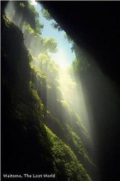 """""""The Lost World""""   Waitomo, New Zealand."""