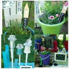 Ellington Farmers Market. Amy, owner of Faith, Love & Ladybugs, has been busy creating bird feeders and garden items ready for opening day on May 10th. http://ellingtonfarmersmarket.com/