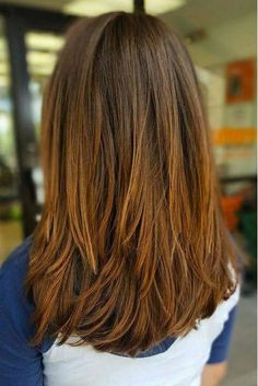 For Straight Hair: No-Fuss Long but blunt ends