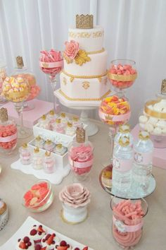 You Are My Sunshine themed birthday party via Kara's Party Ideas… Royal Cupcakes, Princesse Party, Waffle Cake, Sunshine Birthday, Festa Party, You Are My Sunshine, Princess Birthday, Birthday Party Themes, Pink And Gold