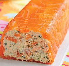 Ingredients: — Cottage cheese — 250 g — Curd cheese — 150 g — Gelatine — 10 g — Hell — 2 tbsp — Lemon juice — 1 tbsp — Lemon peel — 1 tsp — Cream — 150 g — Smoked Salmon (thin slices) — — Celery — 1 stalk — Chopped dill … No Cook Appetizers, Seafood Appetizers, Cheese Appetizers, Appetizer Recipes, Smoked Salmon Recipes, Avocado Recipes, Fish Recipes, Seafood Recipes, Lunch Recipes