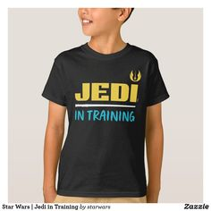 Star Wars | Jedi in Training T-Shirt Funny Star Wars Shirts, Star Wars Tshirt, Star Citizen, Star Wars Colors, Star Wars Outfits, Star Wars Merchandise, Star Wars Gifts, Star Wars Jedi, Star Wars Humor