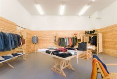 Mr Mudd and Mr Gold store by Bunker Hill, Stockholm store design