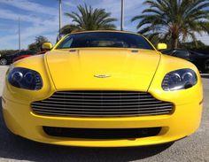 Bring some sunshine into your life! Aston Martin V8 Vantage. Click for the full details #spon