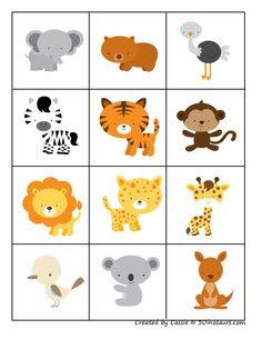Autism Activities, Printable Activities For Kids, Preschool Activities, Hands On Activities, Kids Zoo, Math For Kids, Lessons For Kids, Farm Animals Preschool, Preschool Jungle