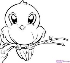 Ini Cute Bird Coloring Pages Free Printable Pictures Find This Pin And More On Birds