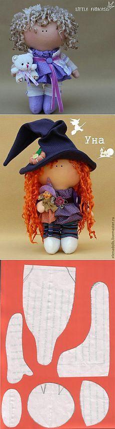 Кукла с большой головой