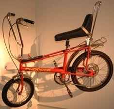Raleigh chopper, with the eyewateringly, painful gearbox, should you fall onto the cross bar.