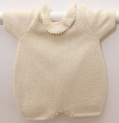 Knitting pattern Romper / Instructions in от LittleFrenchKnits