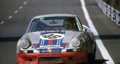 The Carrera version of the Porsche 911 first raced at Le Mans in 1973